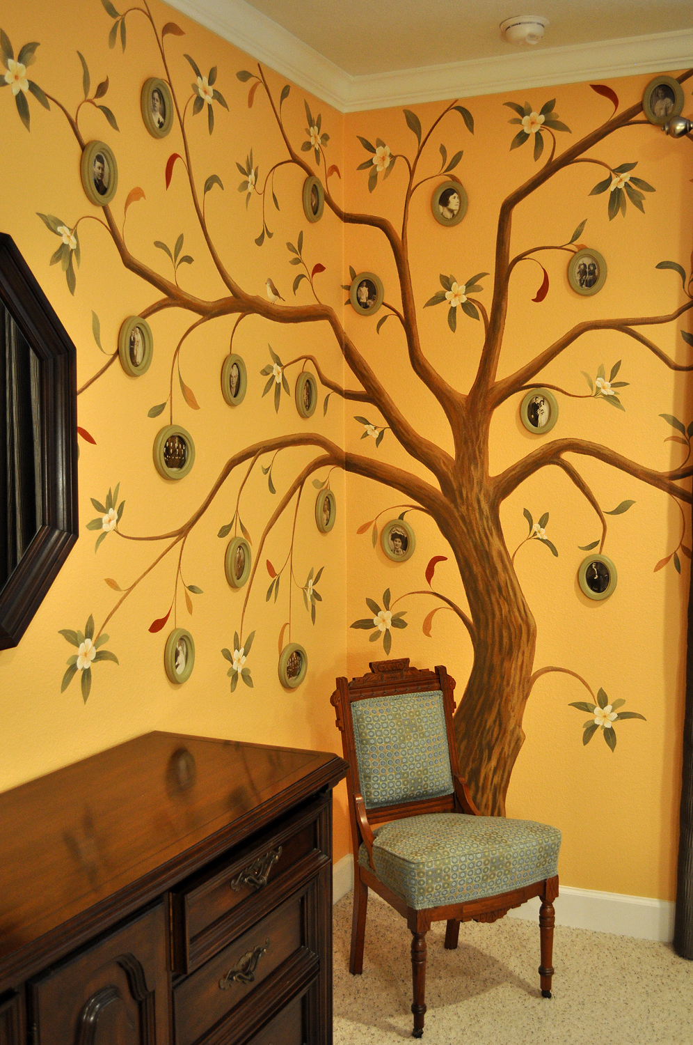 Family Tree Mural After 1