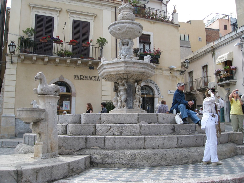 Client's Photo of Baroque Fountain